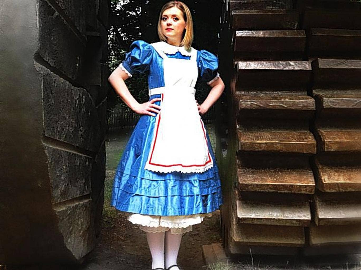 Fantasy stuff: Fflur Wyn as Alice