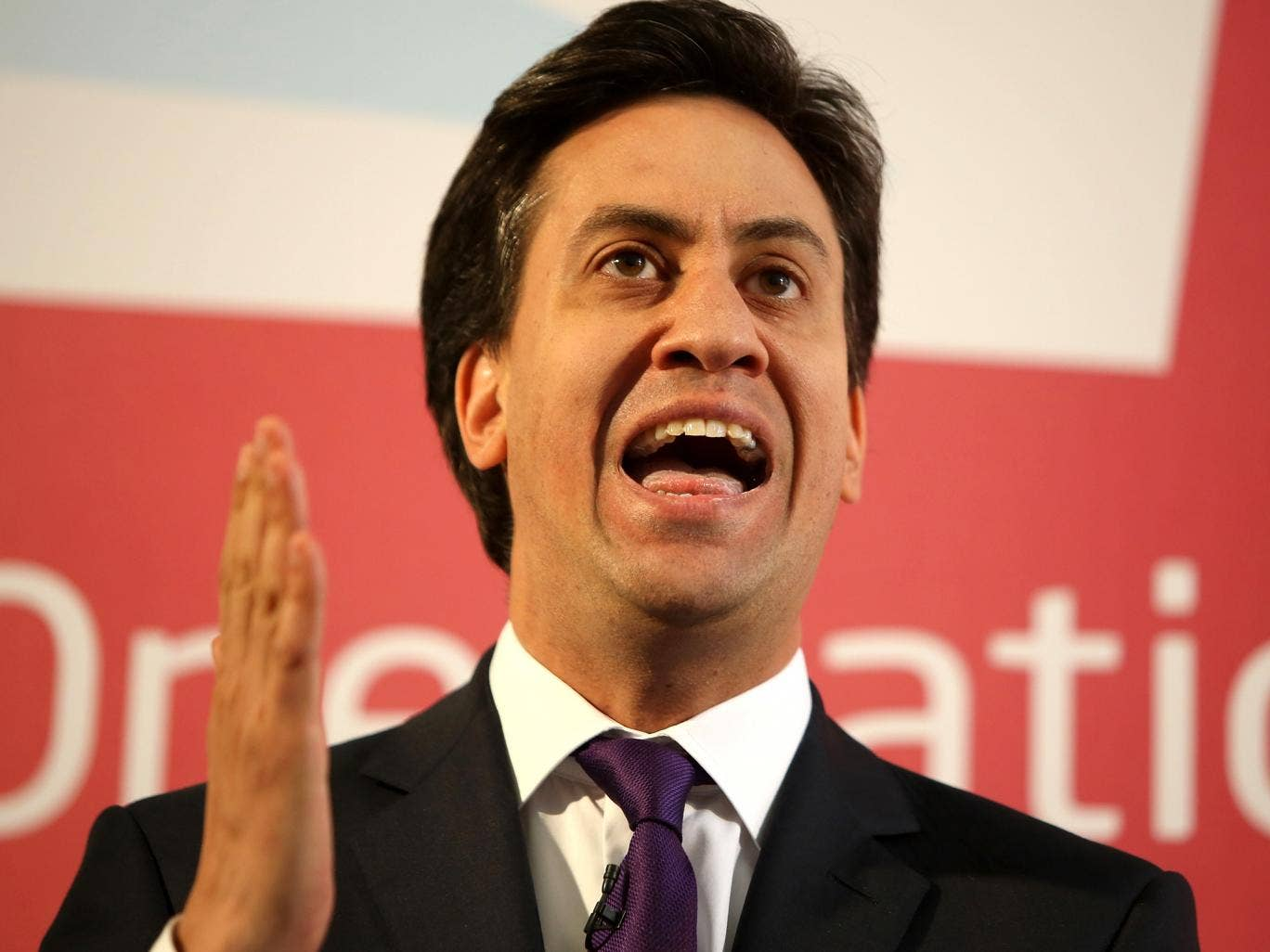 The current figures would give Ed Miliband a majority of 32 at a general election