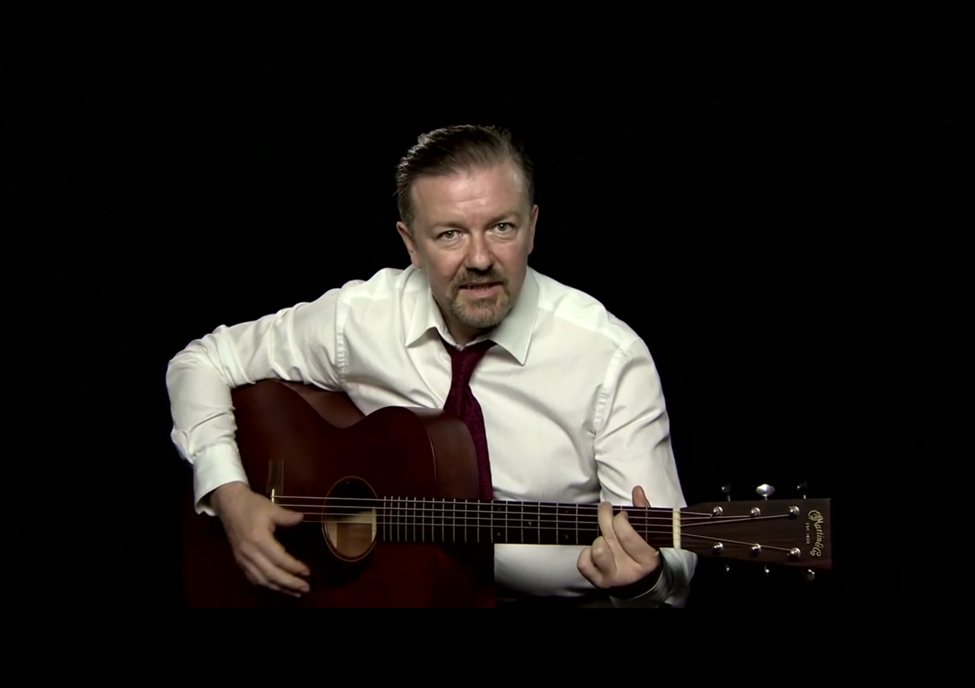 Gervais' 'Learn Guitar with David Brent' YouTube series