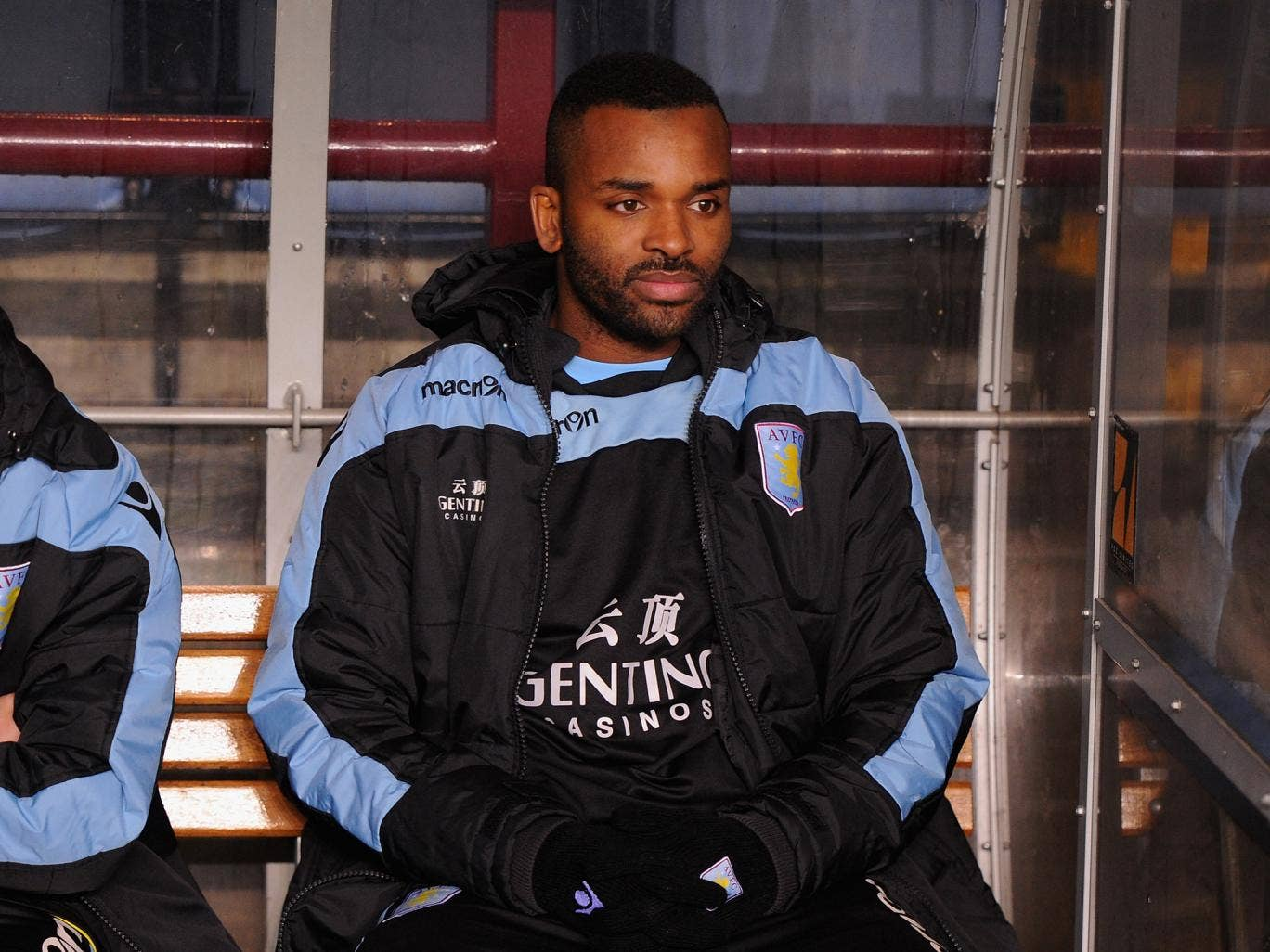 Darren Bent has remained largely on the Aston Villa bench over the last season