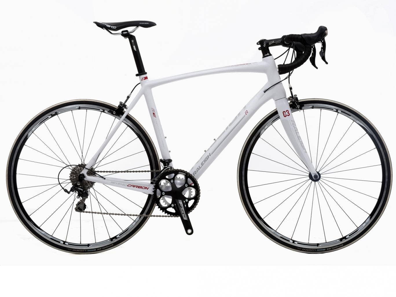 The new Revenio Carbon racer from Raleigh