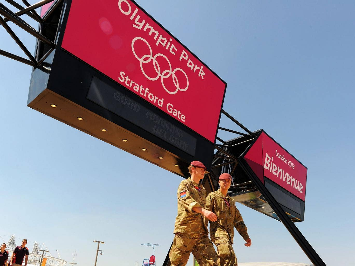 Extra military personnel had to be deployed following a last-minute recruitment meltdown at last year's Olympic Games.