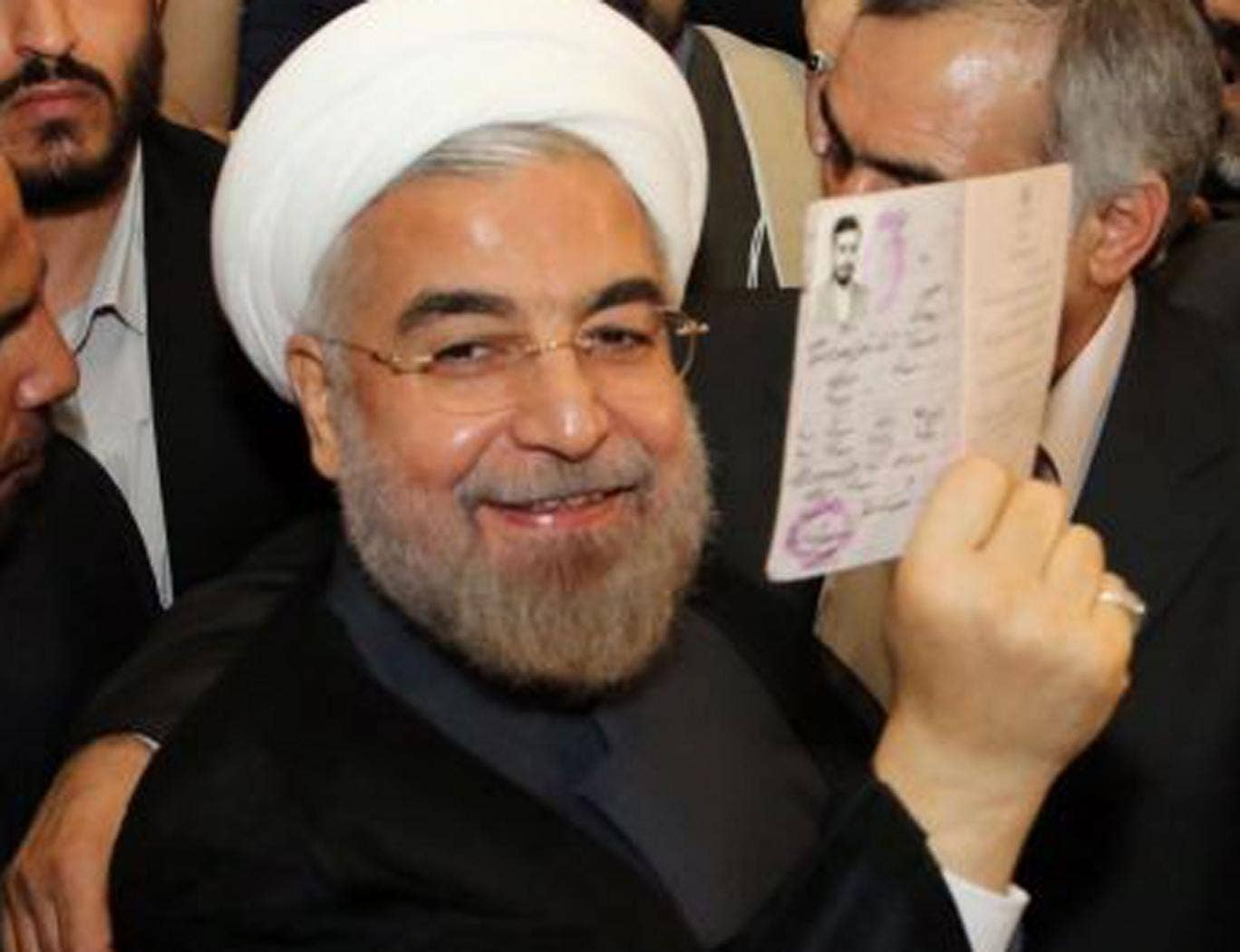 """Hasan Rouhani called Israel an """"old wound"""" that should be removed"""