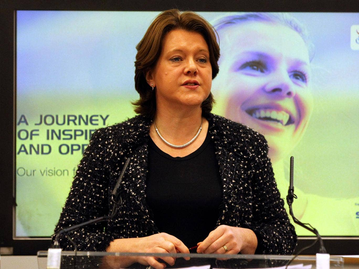 Maria Miller has pledged to improve representation of women