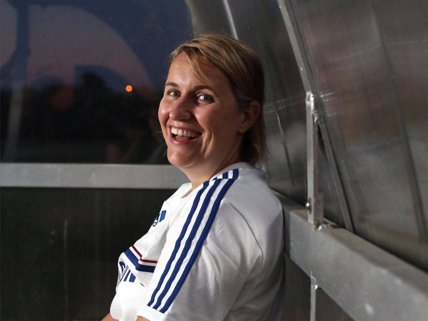Emma Hayes is eager to coach the high standards she found in the US at Chelsea