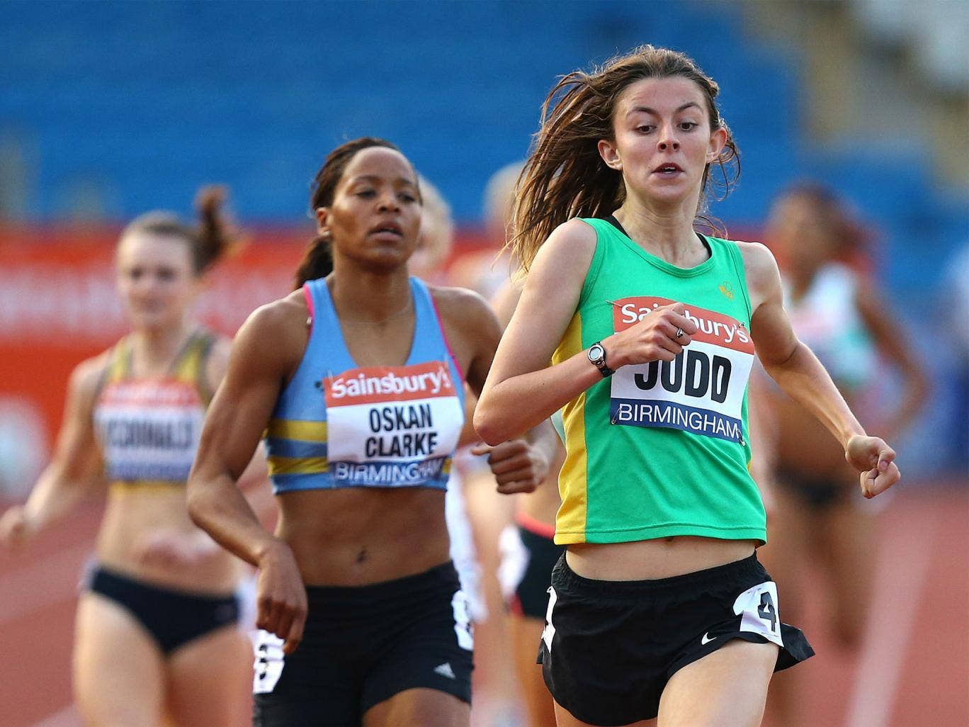 Judd's rise this summer has been spectacular and while Rio 2016 or even the 2020 Olympics are more realistic targets for the 8-year-old, her achievements this year already mark her out
