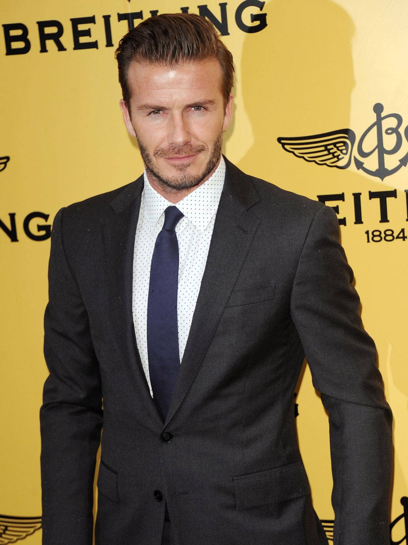 David Beckham is said to be considering a film role in The Secret Service
