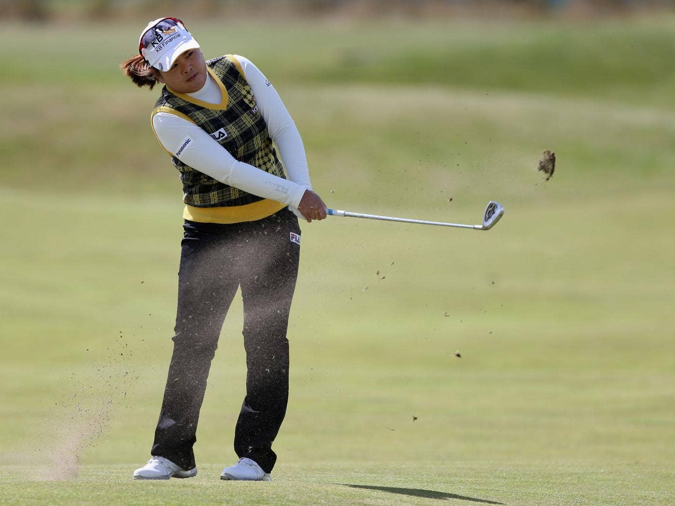 Inbee Park in action at St Andrews. Those who constantly seek to compare women's sport to the men are missing the point