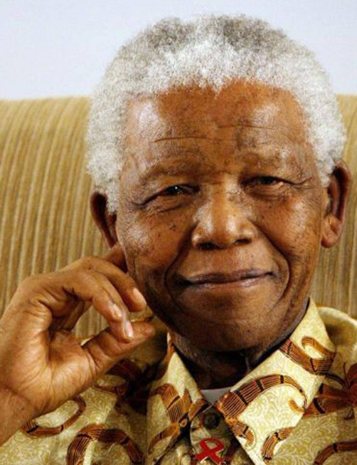 Mandela, 95, has spent two months in a Pretoria hospital battling a lung infection