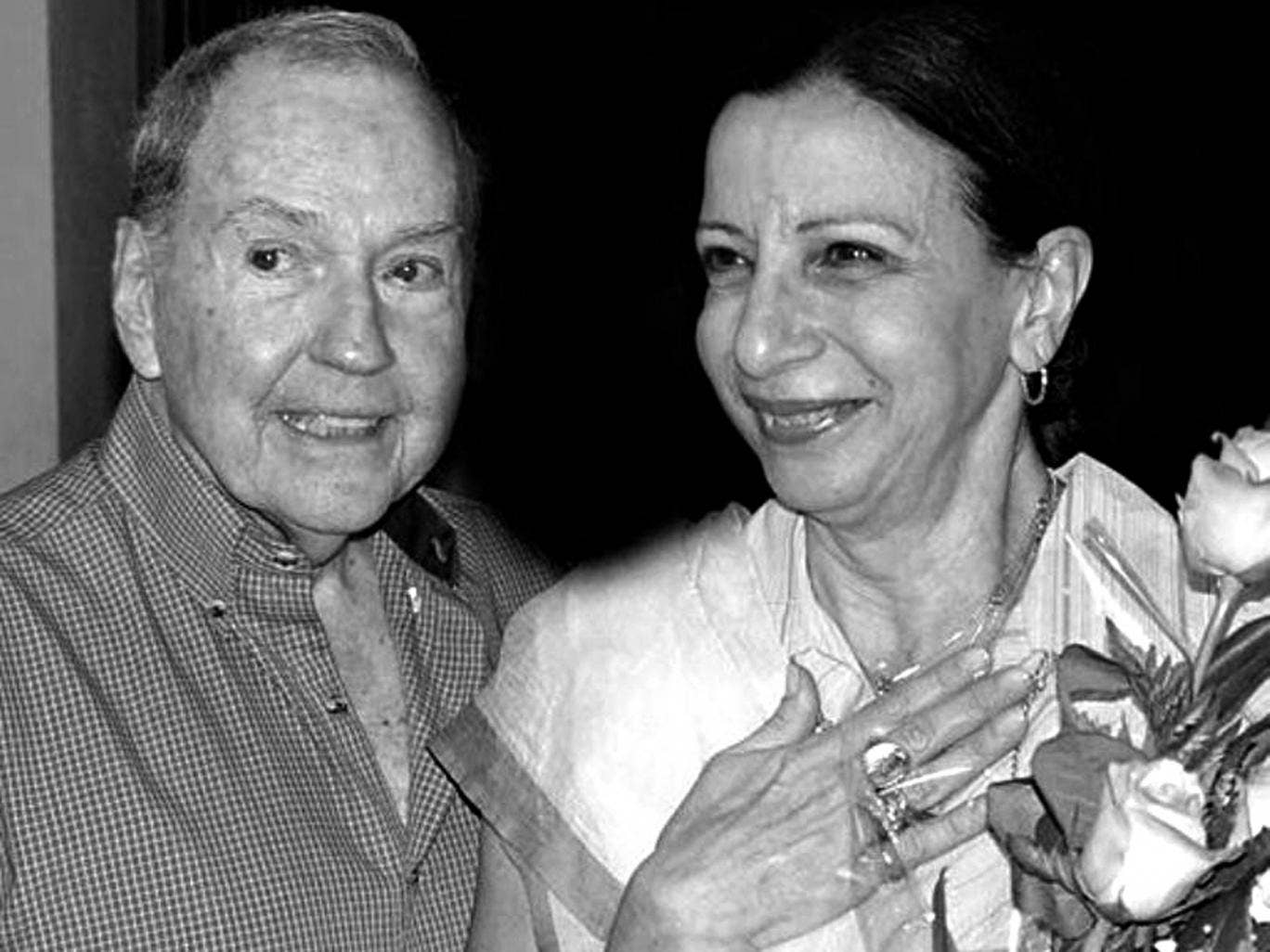 The father of Cuban ballet: Alonso with Loipa Araujo