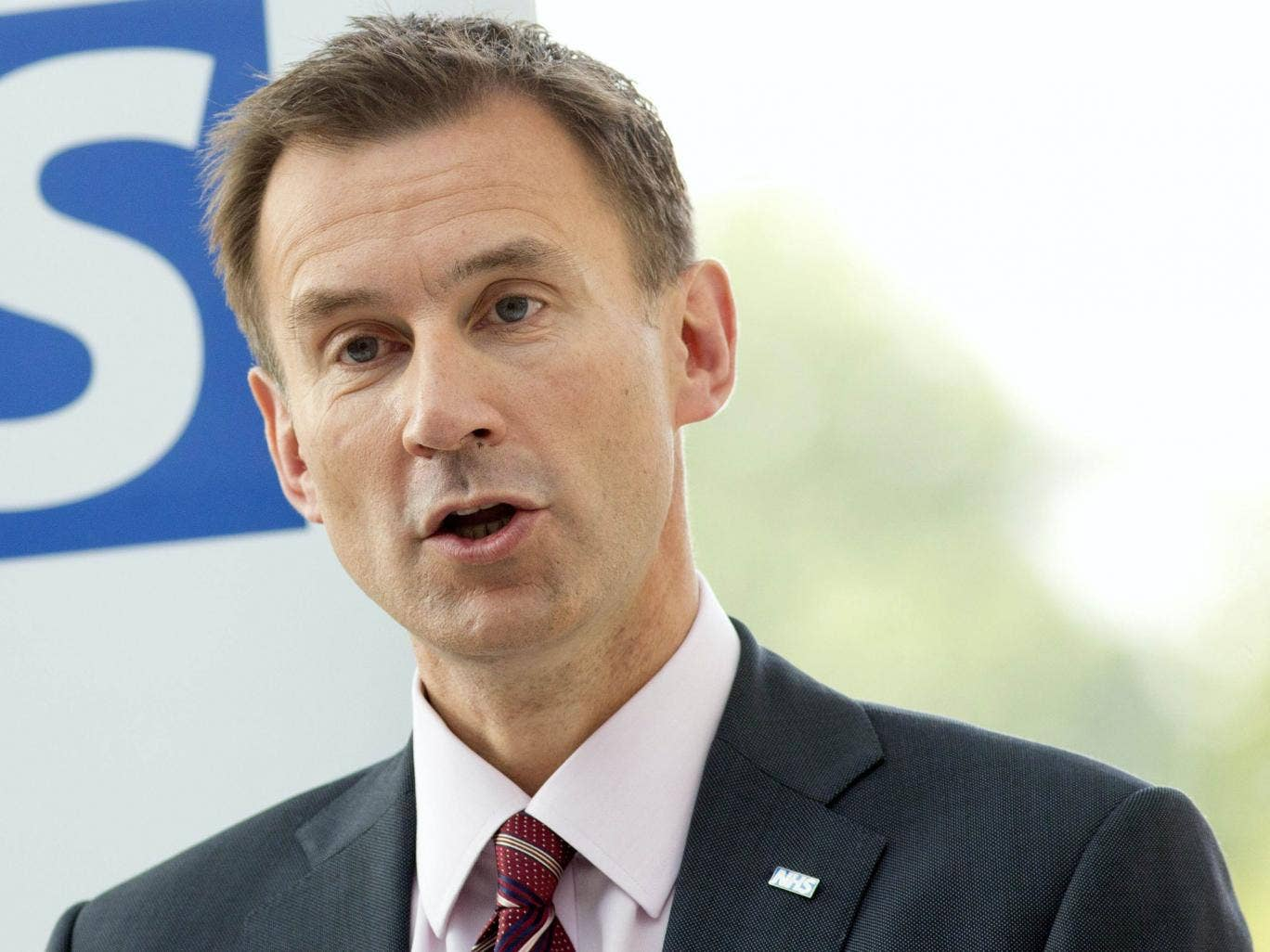 Jeremy Hunt has been criticised for presiding over staff cuts