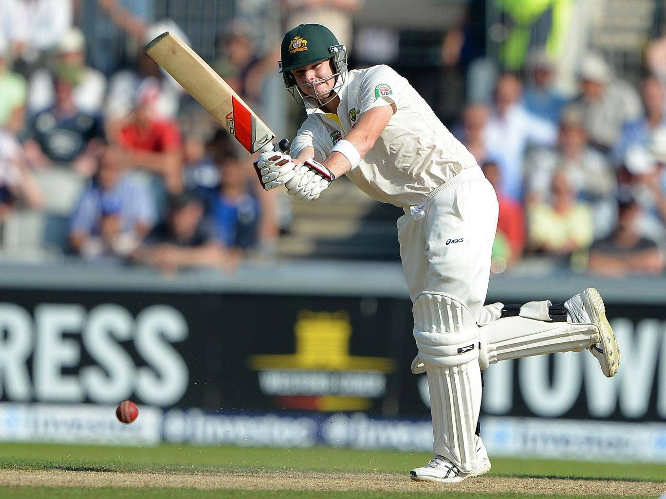 <b>Steve Smith – 8</b><br/> Easily Australia's most improved player over recent years, Smith played his part in an excellent partnership with Clarke in Australia's first innnings, scoring 89. Was unlucky to be run out by his captain when going well in the