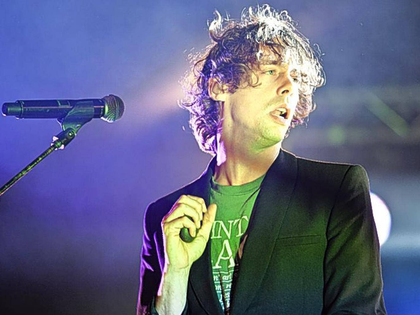 In at the sharp end: Johnny Borrell