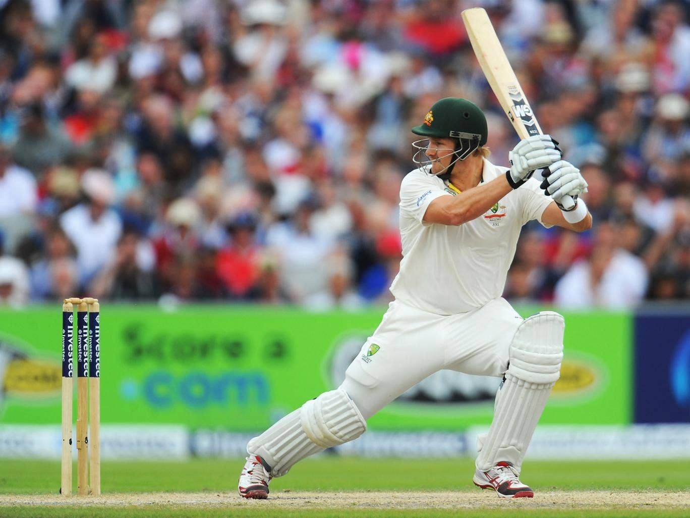 I'd have Shane Watson opening again in the fourth Test
