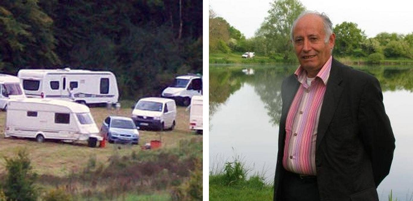 Paul Renaudat, the mayor of Chavannes in the department of Cher in central France, originally told police and a local radio station that he planned to commit suicide if the families refused to leave the village.