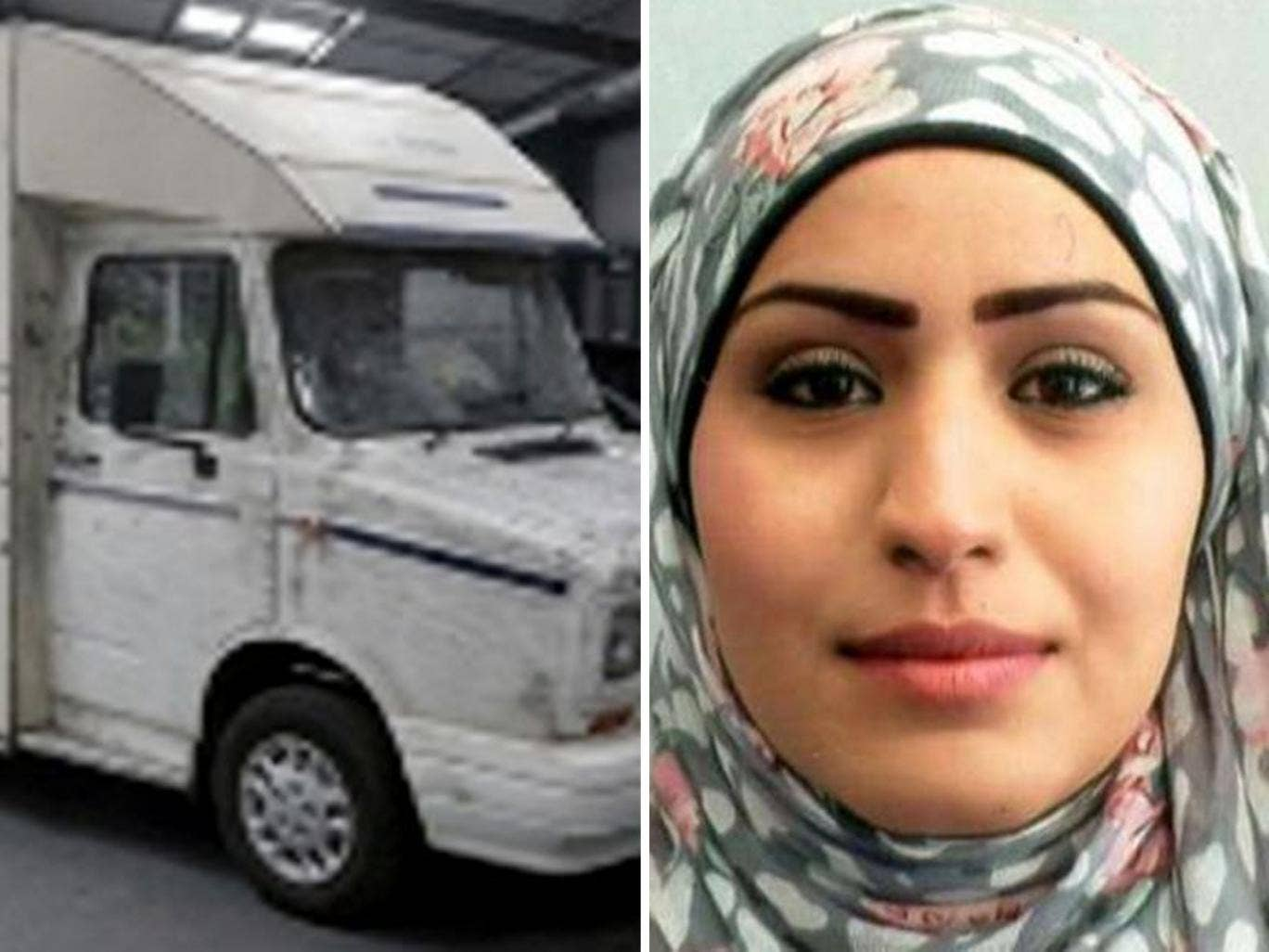 Police searching for the body of Rania Alayed want information about the movements of a camper van