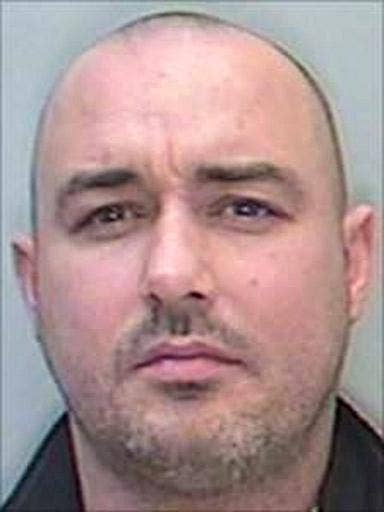 Darren O'Flaherty was arrested at a Chinese restaurant in north Wales
