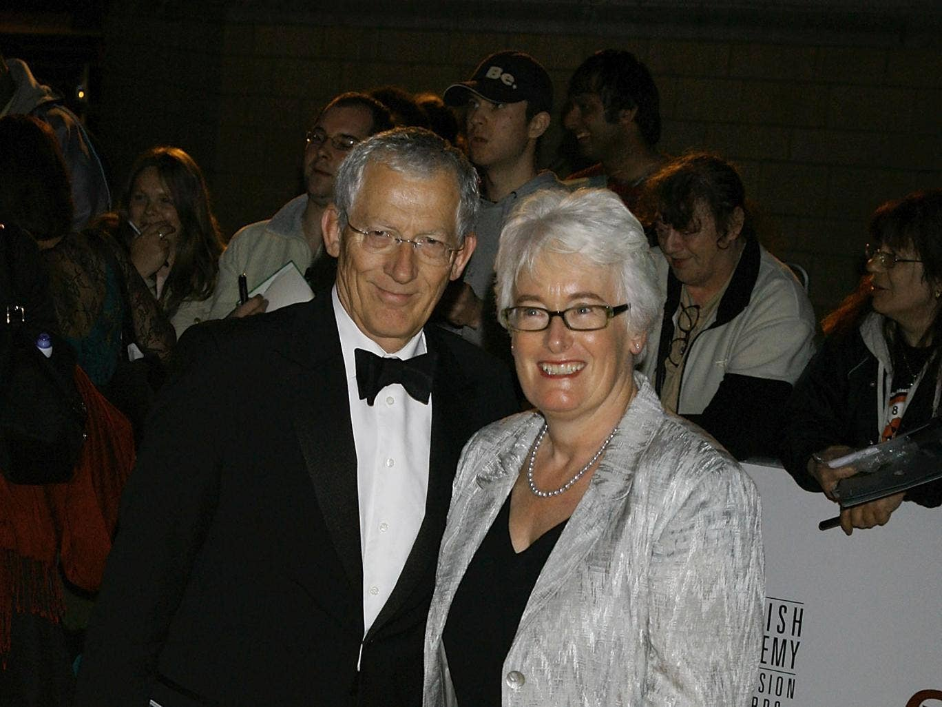 Nick Hewer and Margaret Mountford, co-presenters of BBC1's Nick and Margaret: We Pay Your Benefits