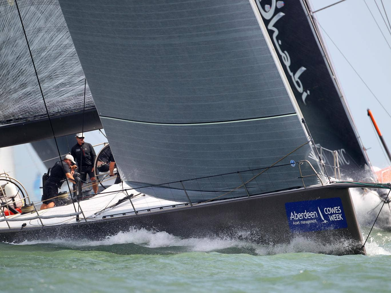 Niklas Zennstrôm's 72-foot Rán added to its impressive haul of silverware to take the Buckingham Coronation Challenge Bowl in AAM Cowes Week