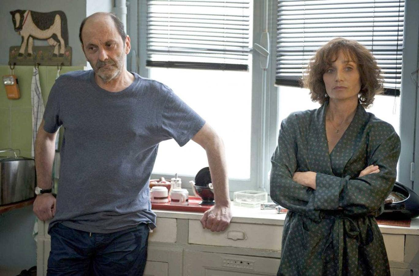 Jean-Pierre Bacri and Kristin Scott Thomas in 'Looking for Hortense'