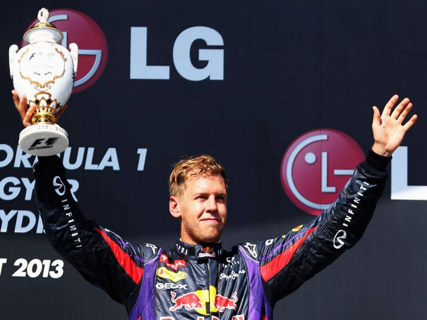 Sebastian Vettel has no preference about which driver will replace Mark Webber