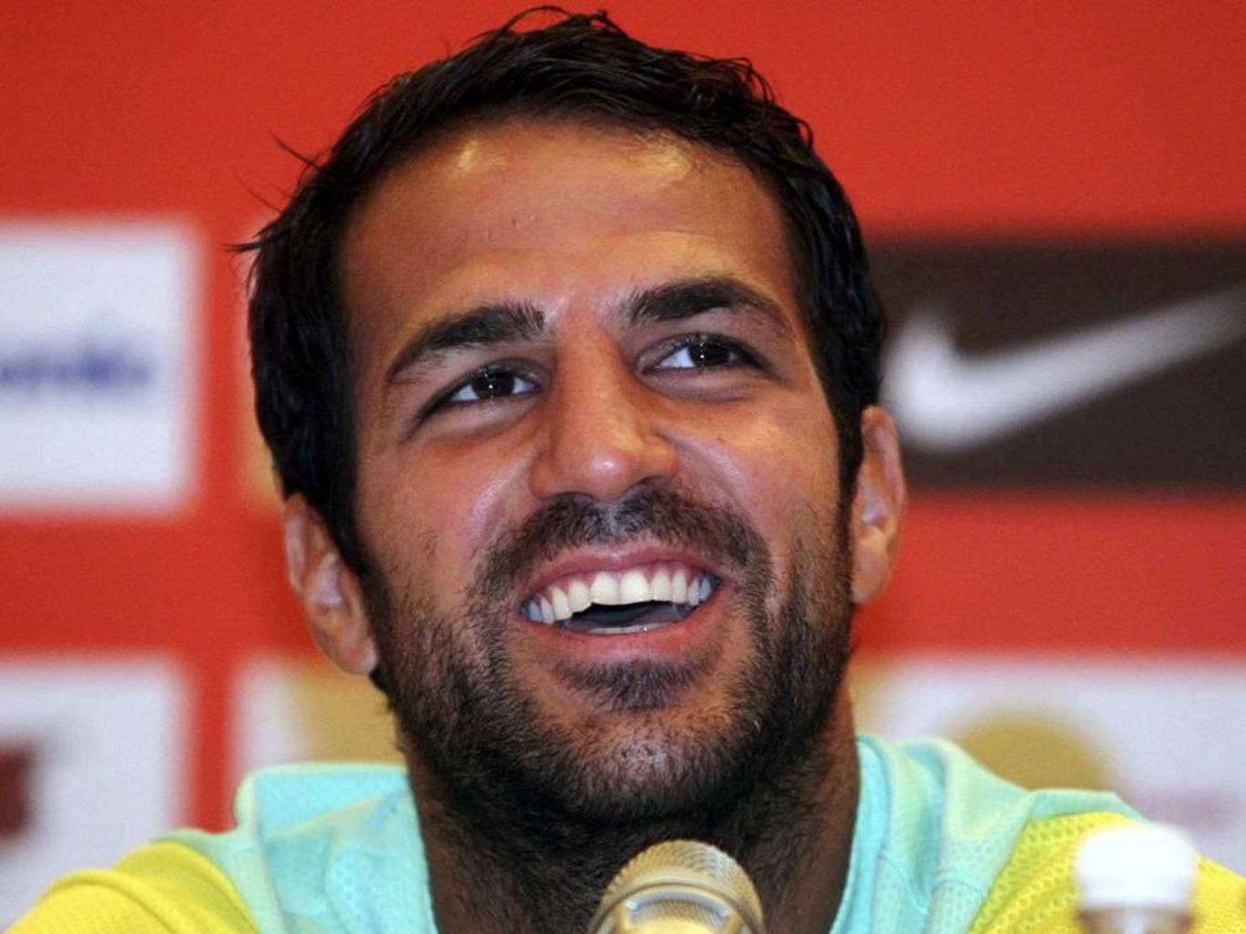 Fabregas said yesterday it 'never went through my head not to continue here'