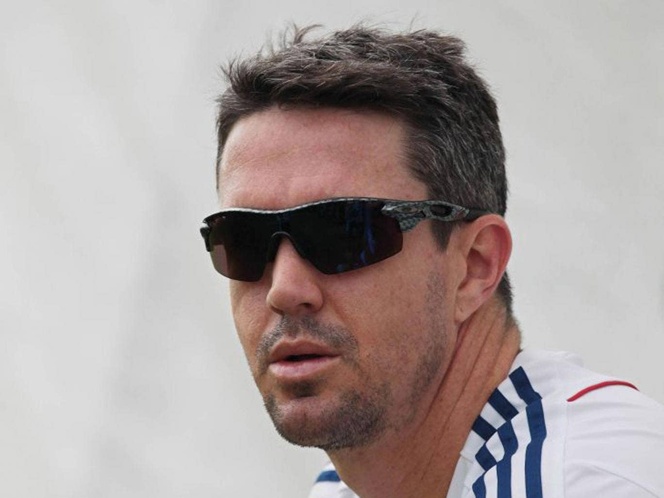Kevin Pietersen attends a training session ahead of the fourth Ashes Test