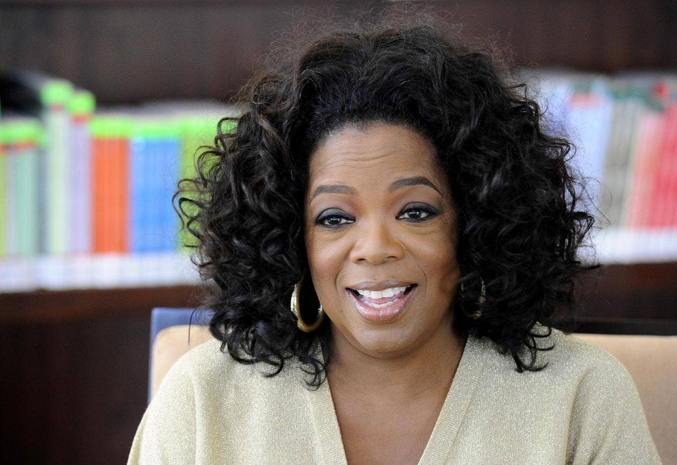 Oprah Winfrey says she was a victim of racism during a recent visit to Switzerland.