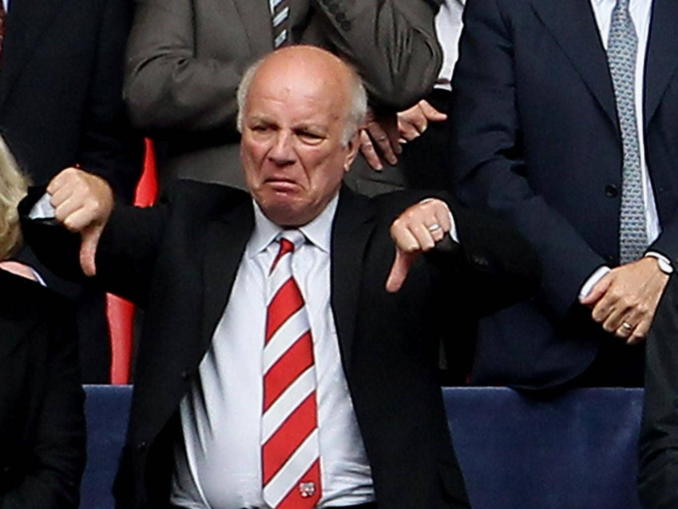 Greg Dyke has given the thumbs down to a summer World Cup in Qatar