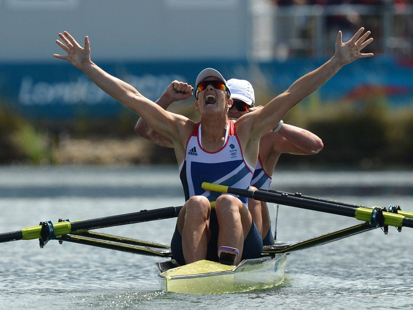 Katherine Grainger wins Olympic gold