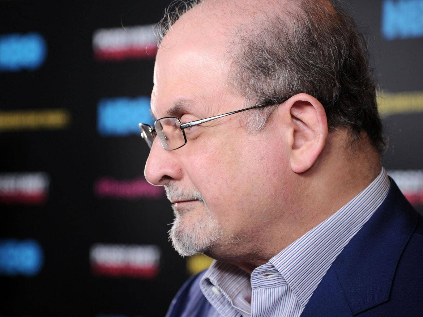 Salman Rushdie: 'If you don't want to read a book, don't read it'