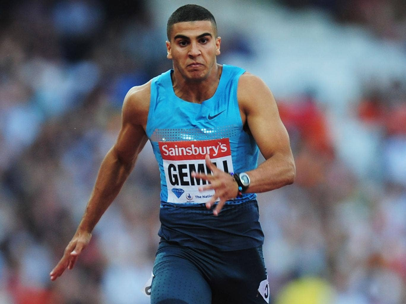 Bright young thing: Adam Gemili