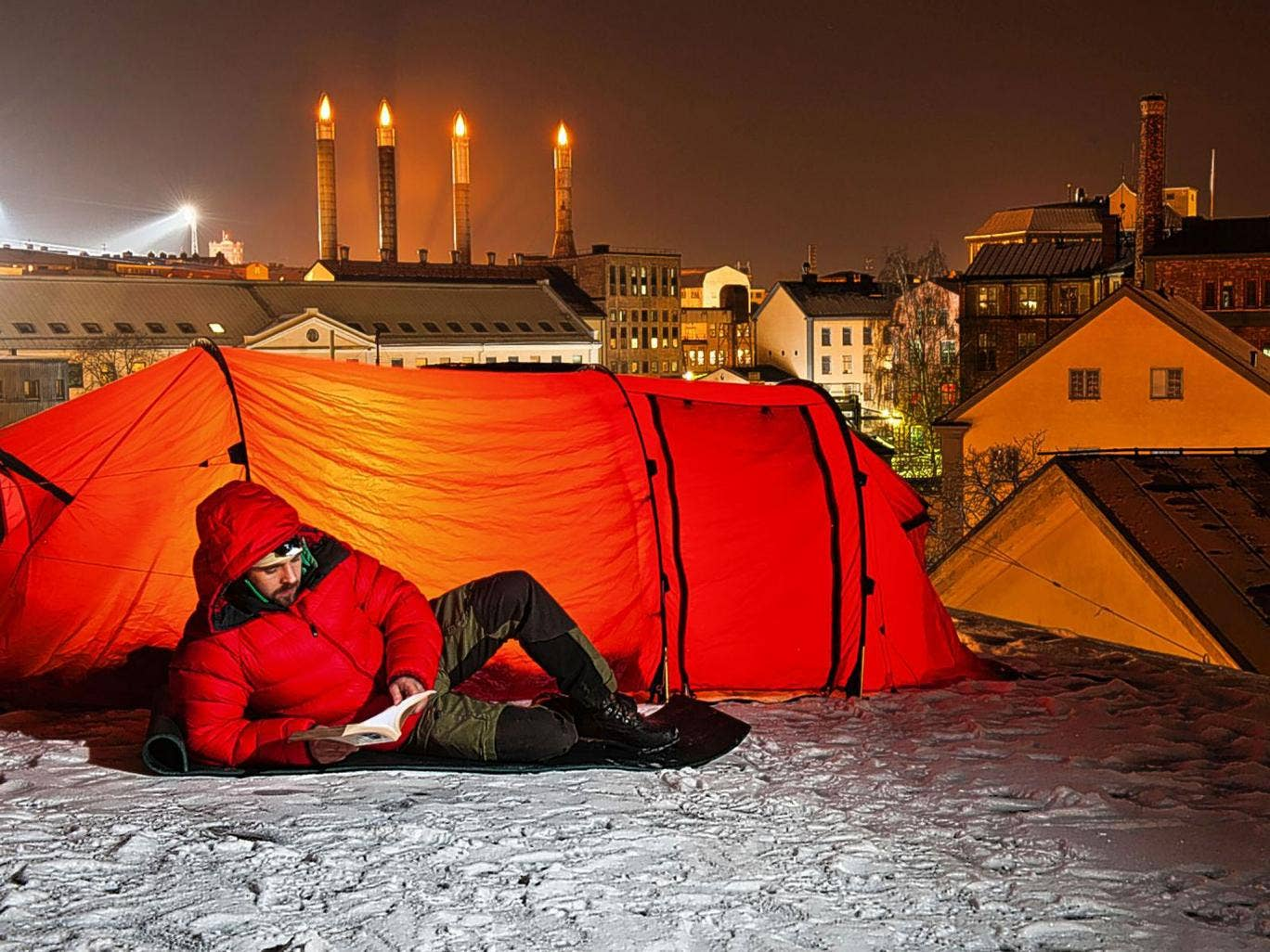 City sleepers: urban camping is gaining a foothold in cities