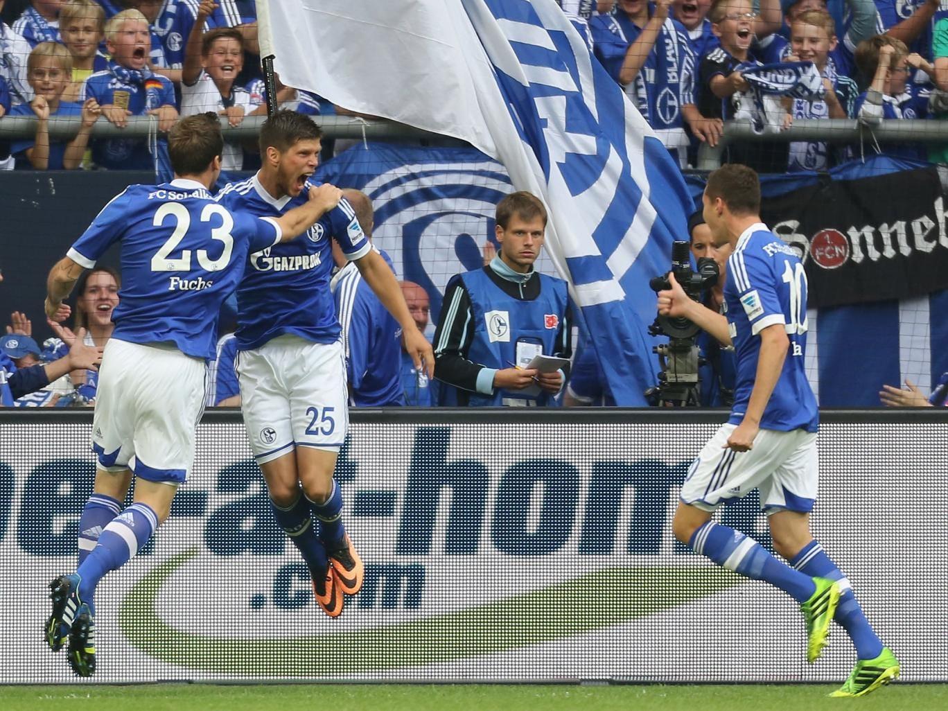 Schalke and Hamburg shared six goals in a rollercoaster 3-3 draw at the Arena AufSchalke