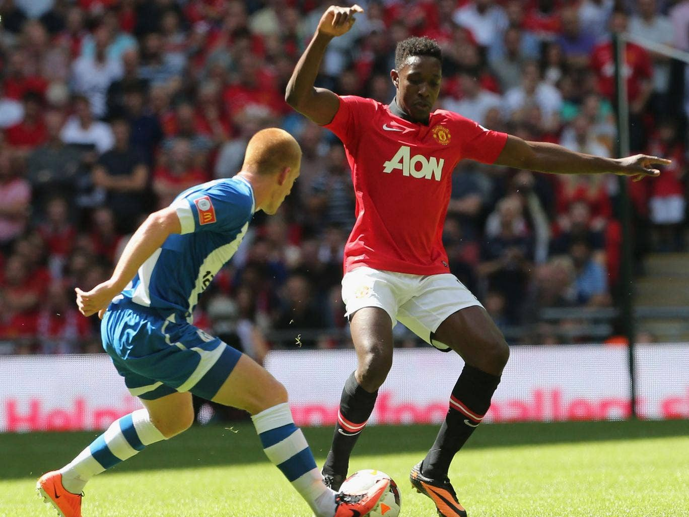 <p>BEN WATSON:</p> Returning to the scene of his historic strike, FA Cup final hero Watson was outshone by another former Palace man in Zaha. 6