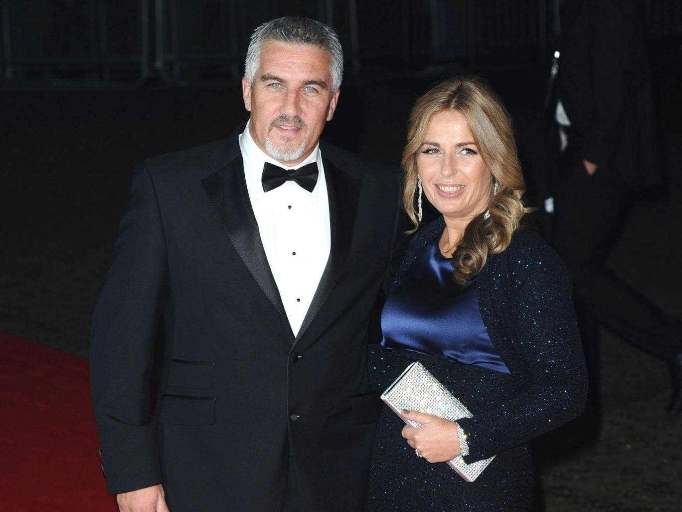 Paul Hollywood and his wife Alexandra have a son
