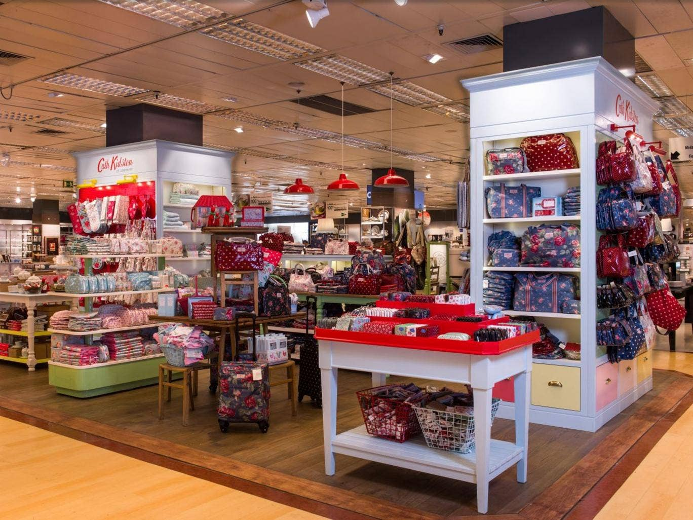 British sales at Cath Kidston rose 21 per cent in the year to March