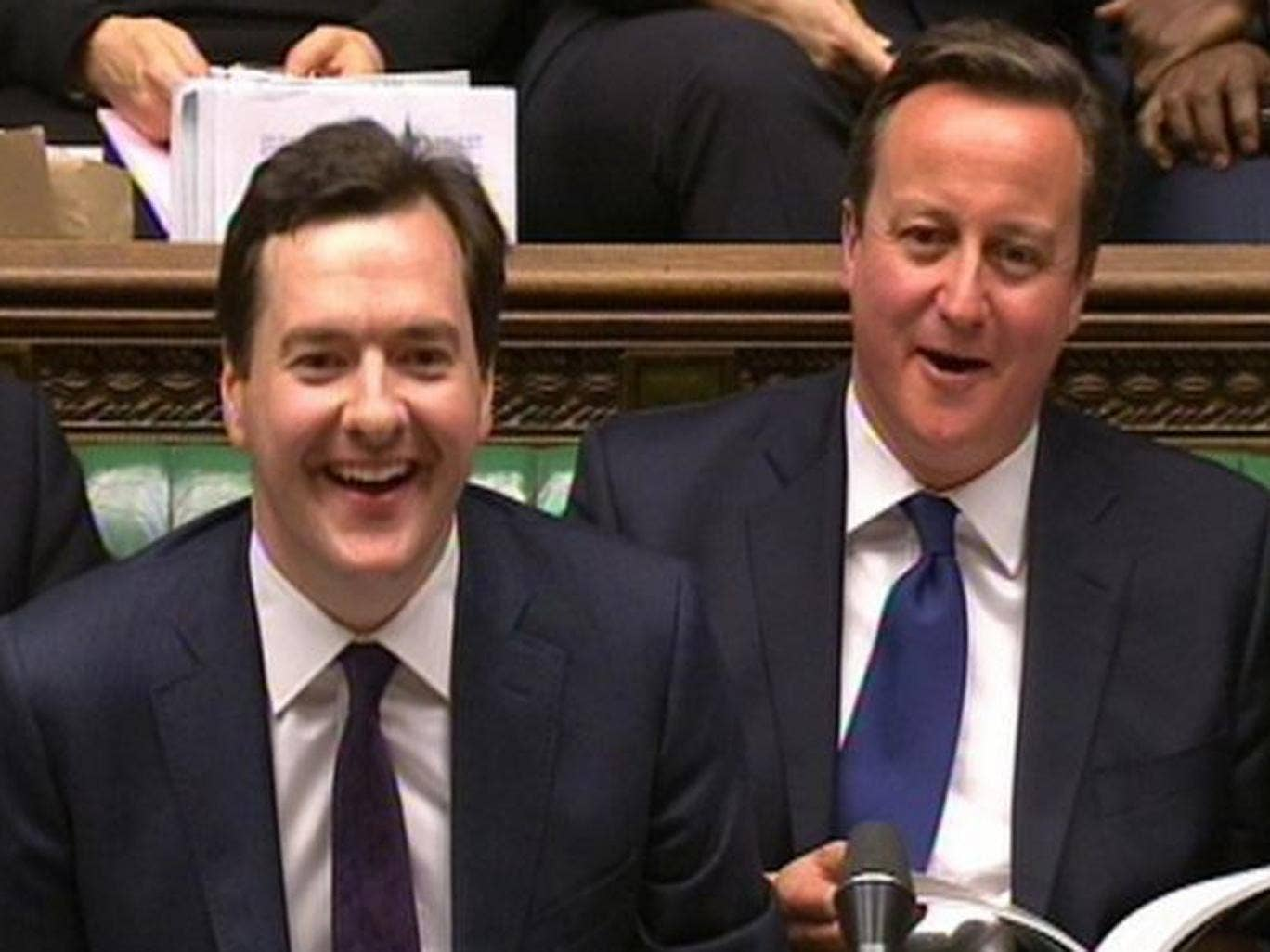 Survey finds 12 per cent rise in confidence in Osborne and Cameron since June