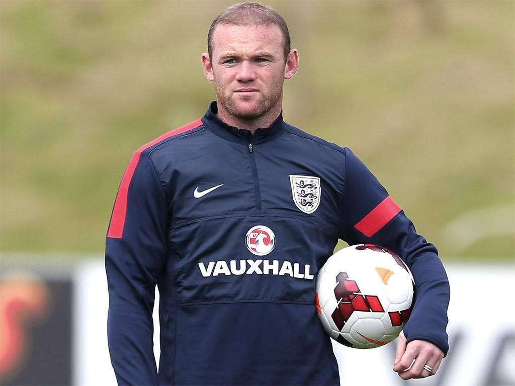 Rooney is expected to start against Scotland