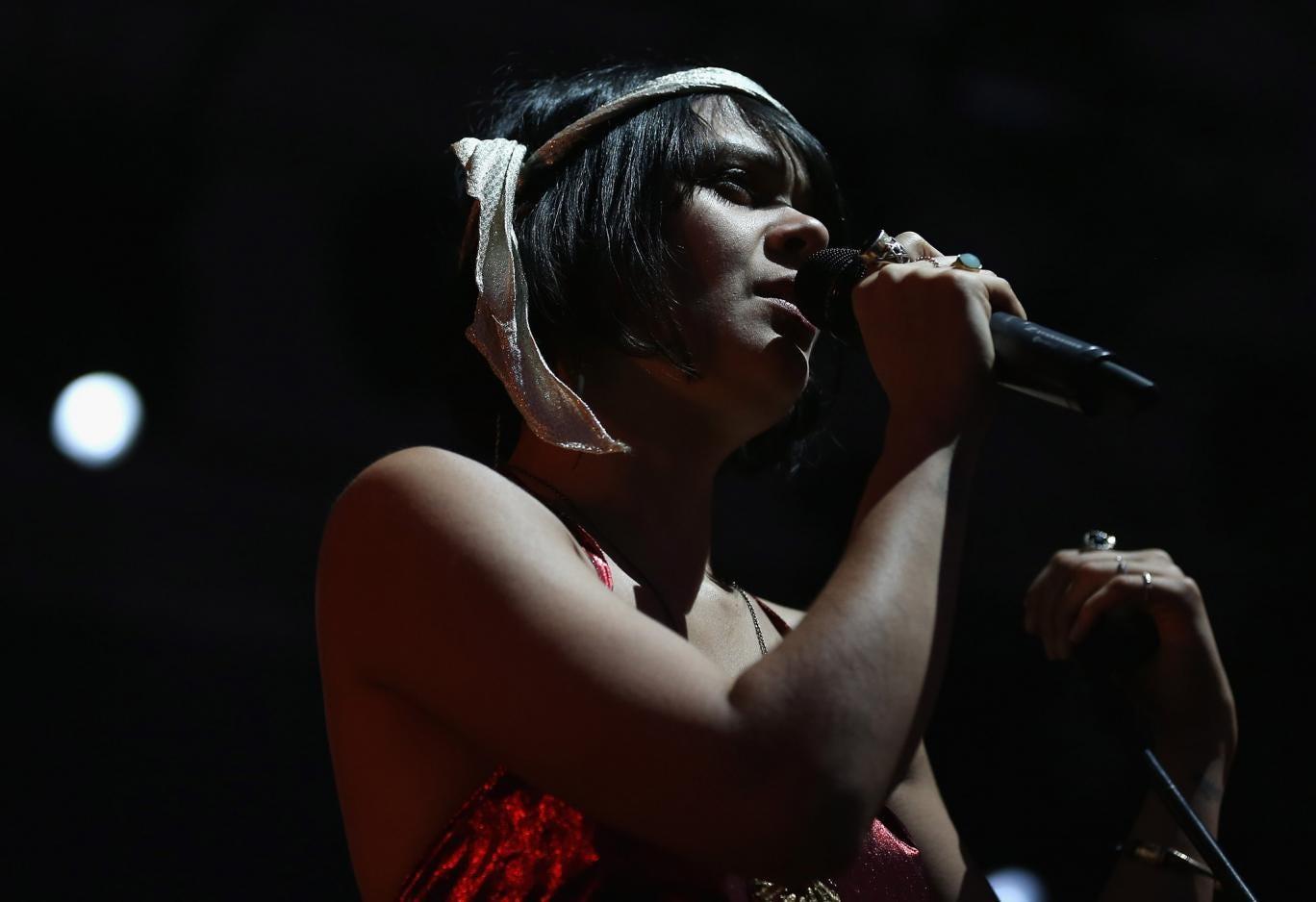 Bat For Lashes' Natasha Khan performing live
