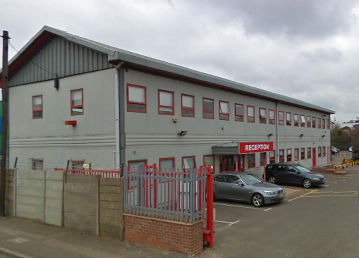 Biffa Recycling plant in Tipton near Birmingham