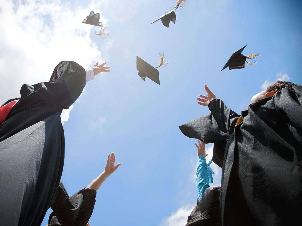 You can still cap off college studies with university – even if results have gone against you