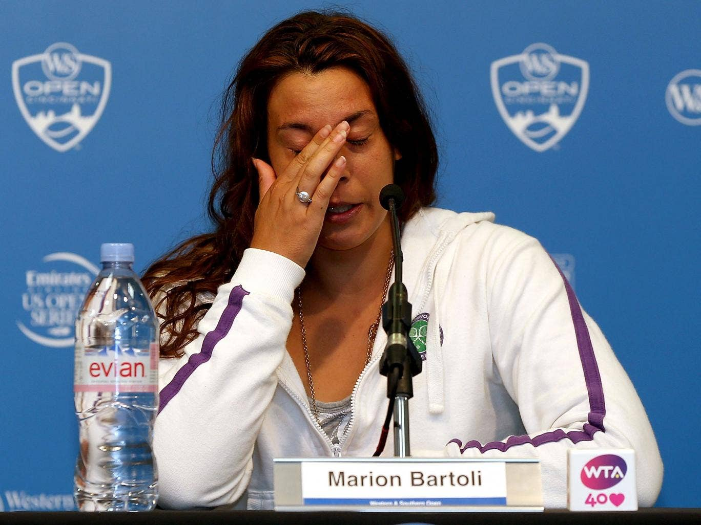 Marion Bartoli announces her retirement