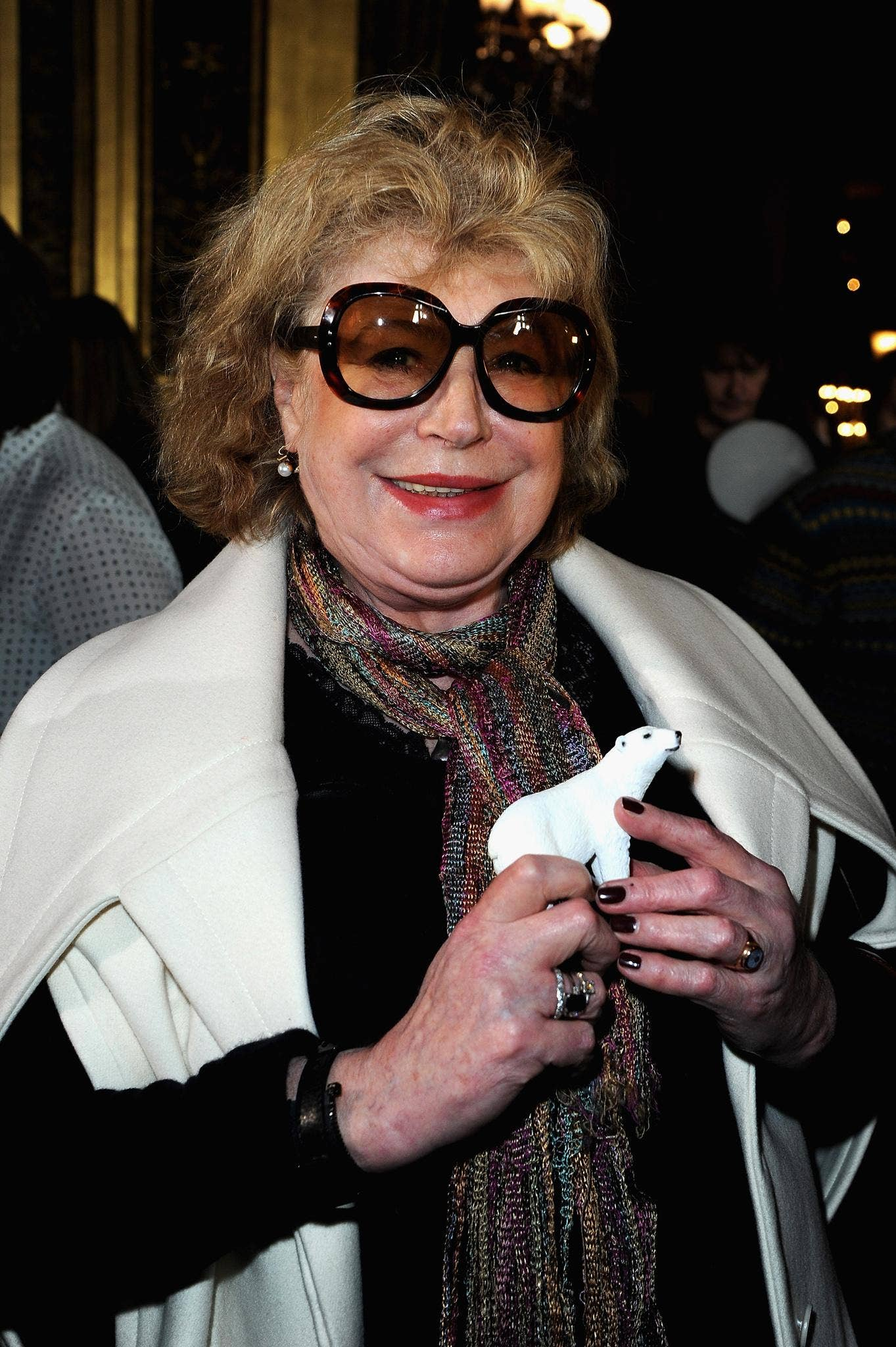 Marianne Faithfull pictured in March 2013