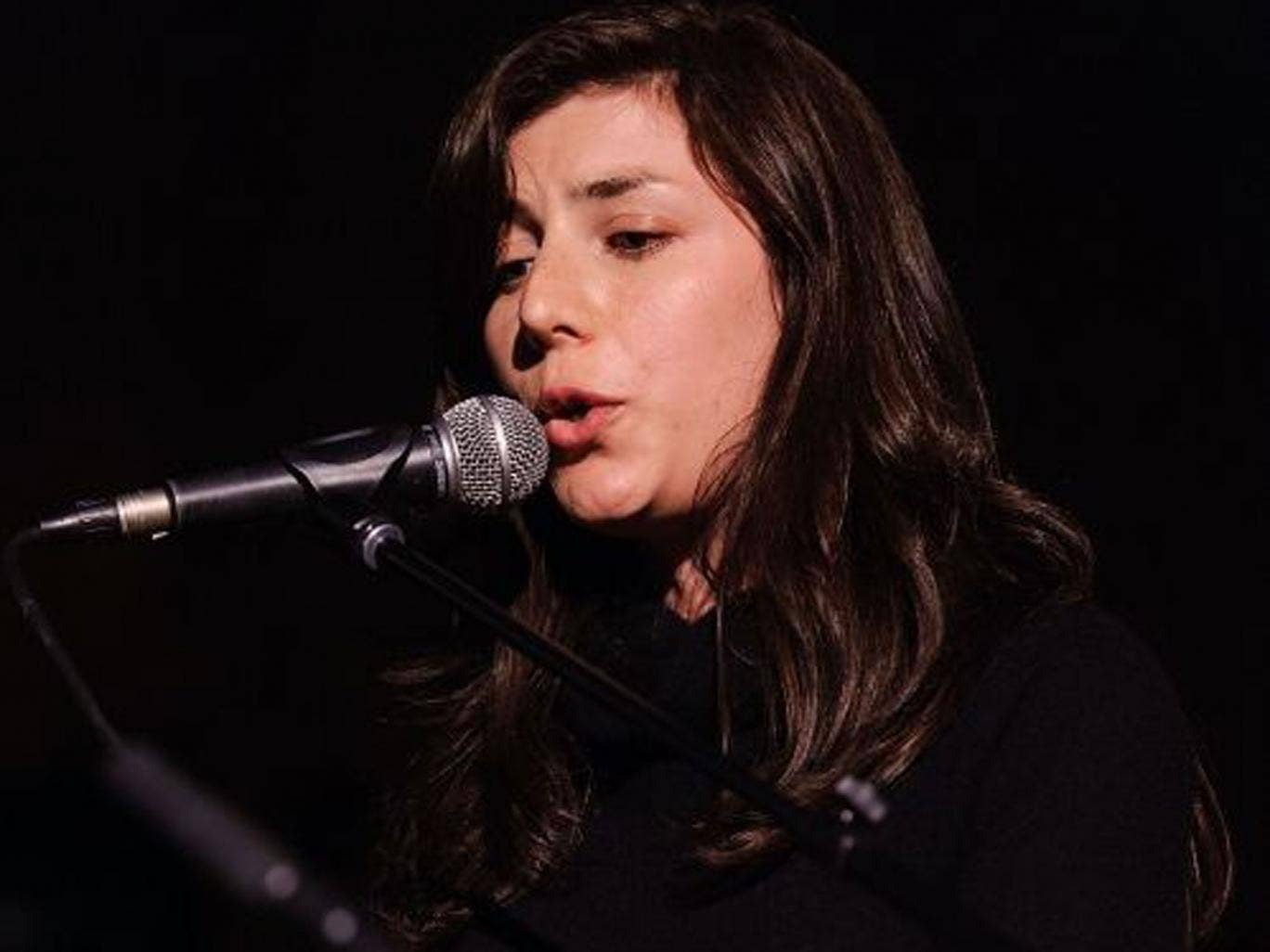 Julia Holter: 'My mom can't play trumpet but I'd want her on it'