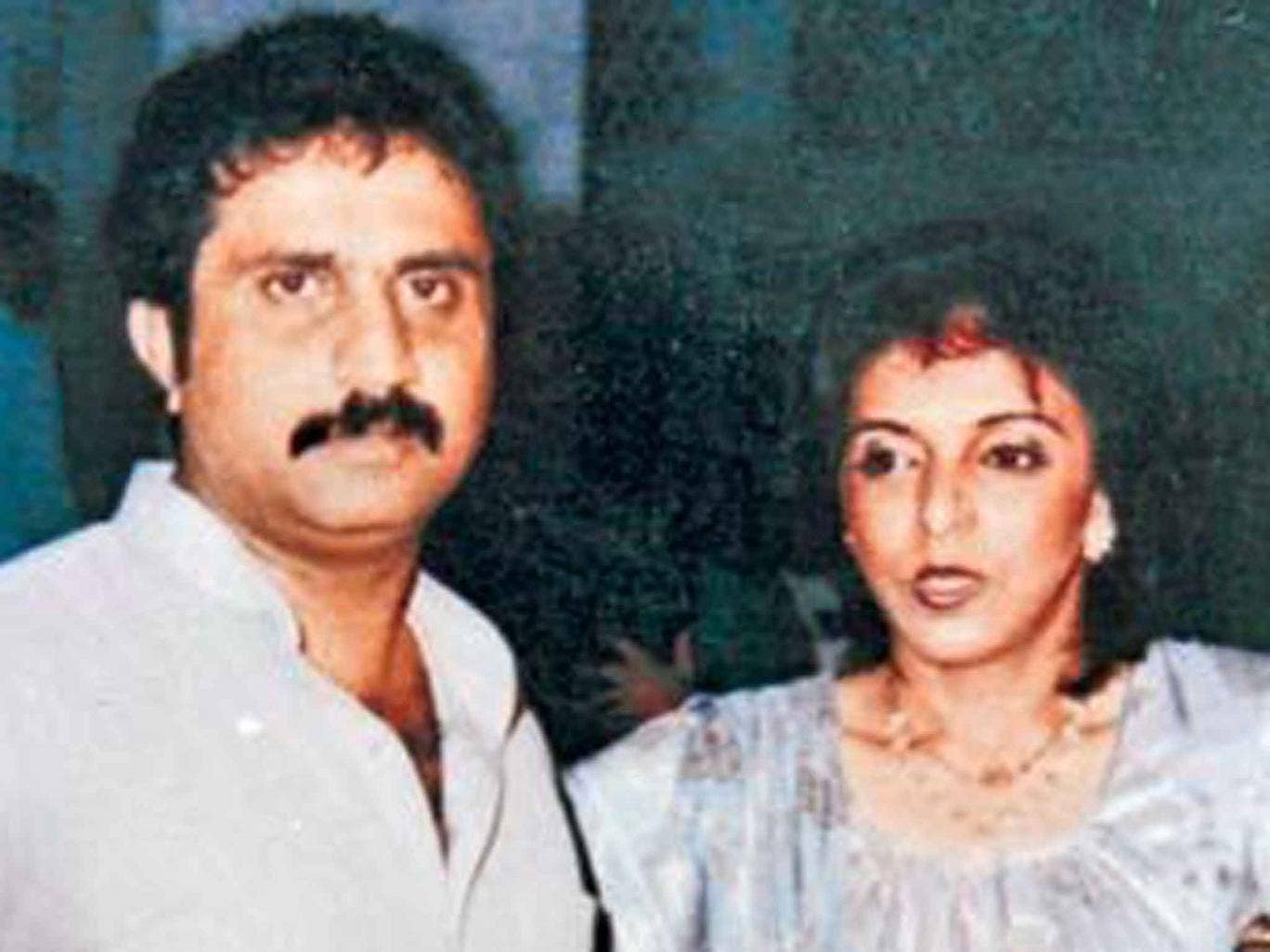 Iqbal Memon and his wife