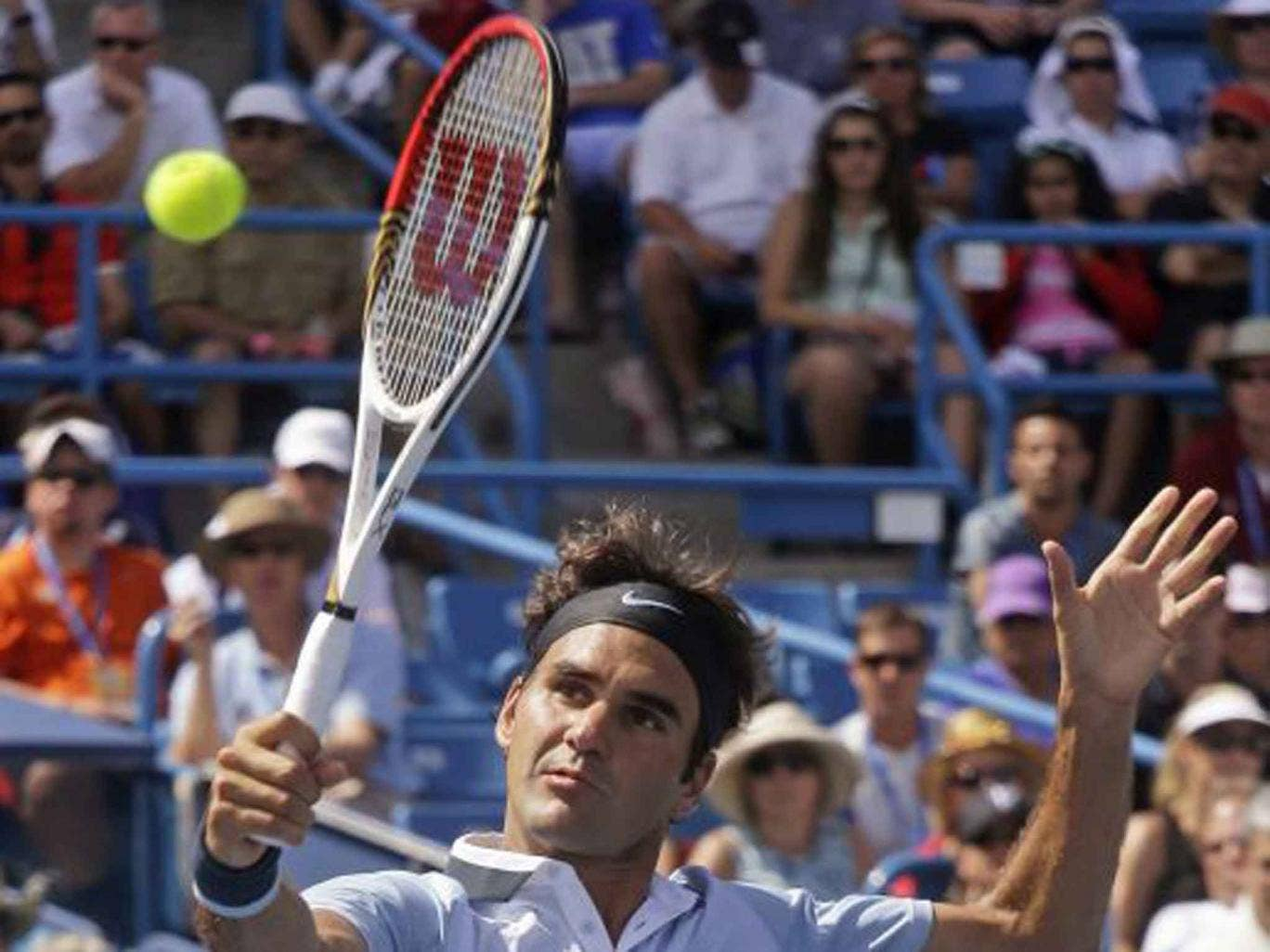 Roger Federer recovered from a slow start to beat Tommy Haas