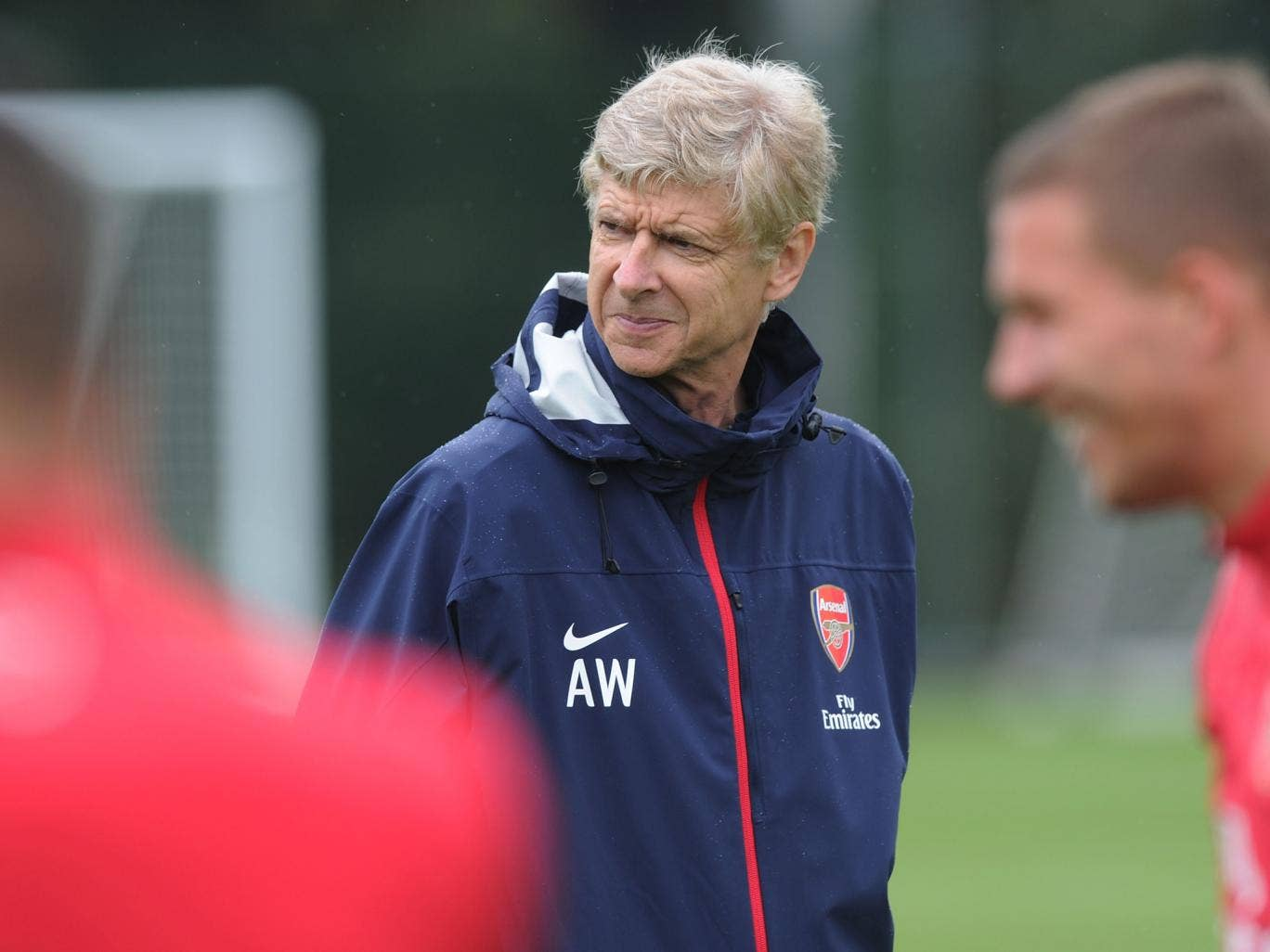 Arsene Wenger has attempted to calm frustrations over Arsenal's lack of transfers this summer
