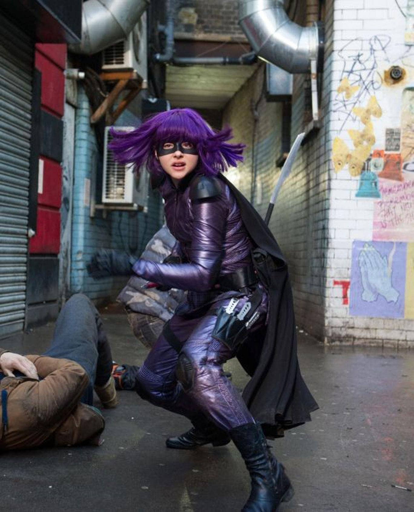 Short cuts: Chloë Grace Moretz takes up the sword again as pint-sized vigilante Hit-Girl in 'Kick-Ass 2'