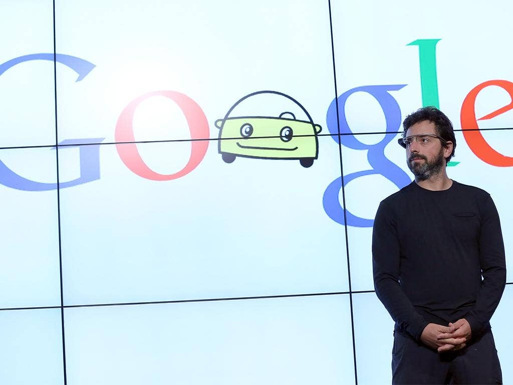 Google co-founder Sergey Brin has helped to keep his company away from the image of the one in 'The Circle'